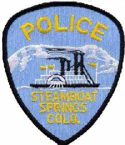 Steamboat Springs Colorado Police Patch