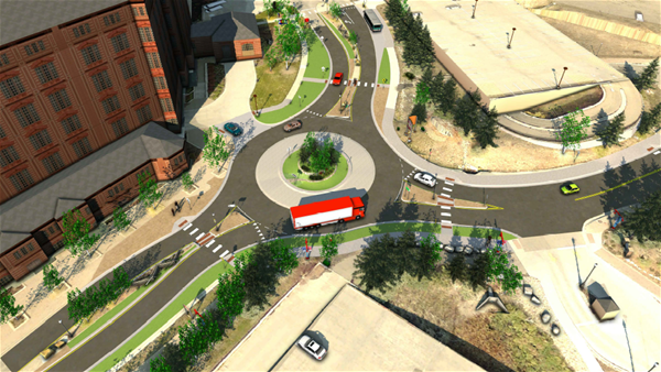 Mountain Base Area Redevelopment Roundabout
