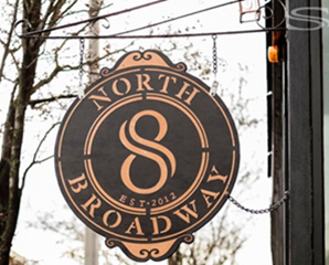 North Broadway Sign