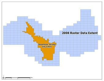 2008 Map of Data