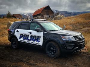 Steamboat Springs Police Vehicle