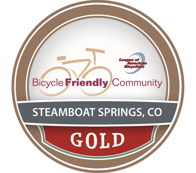 Steamboat Springs Bicycle Friendly Community GOLD