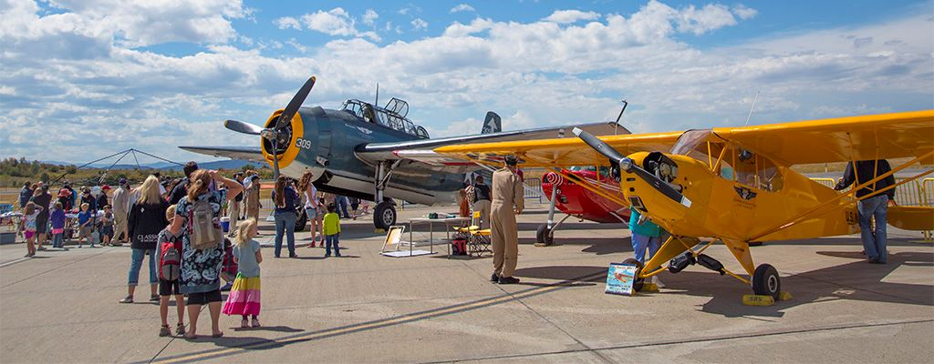 Wild West Air Fest Hero Image