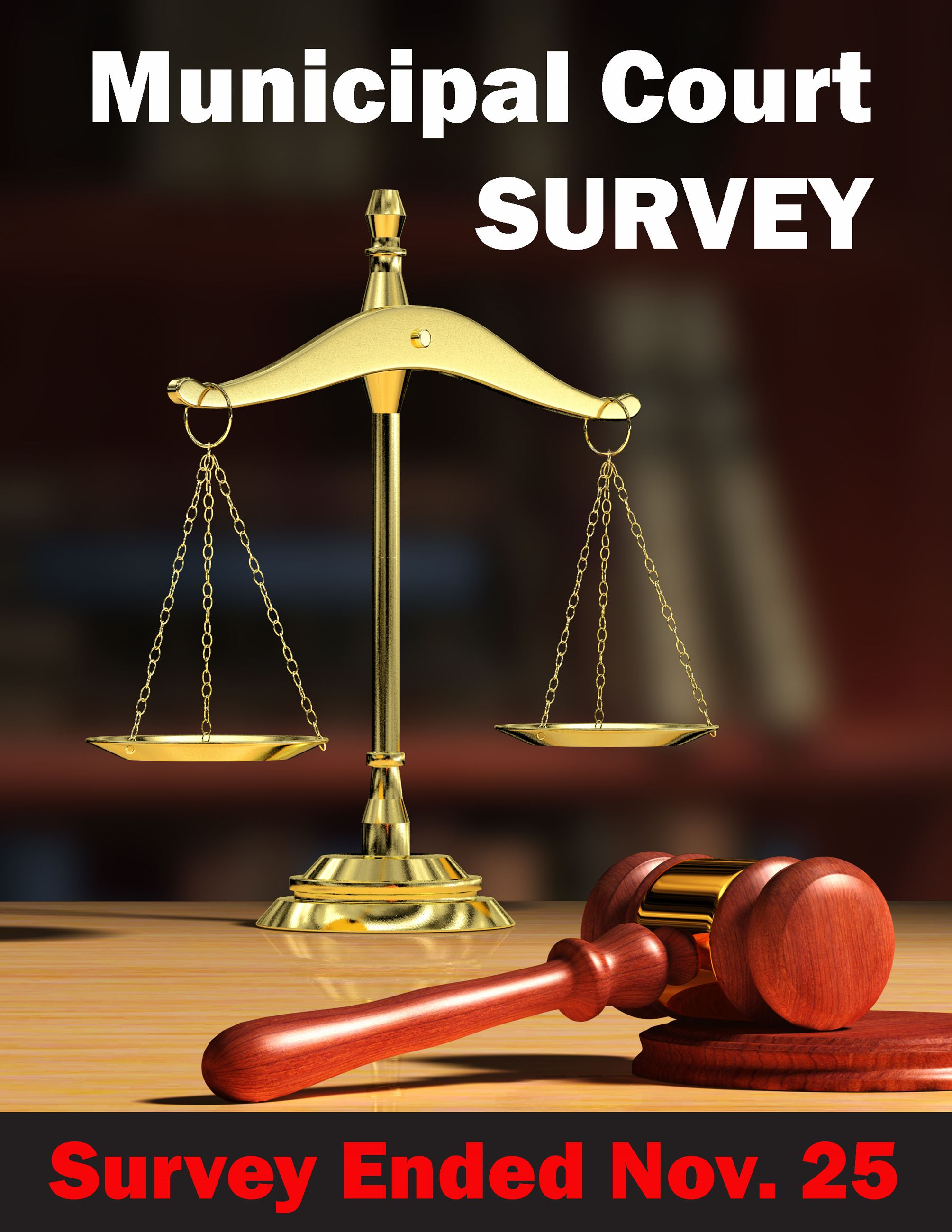 Muni Court Survey End