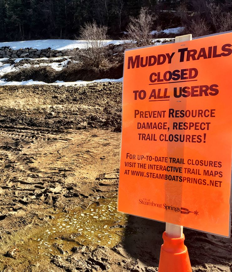 Trail Closure Signage 2019