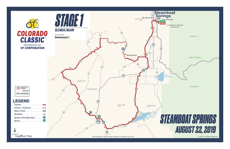 CO Classic 2019 Stage 1 Map