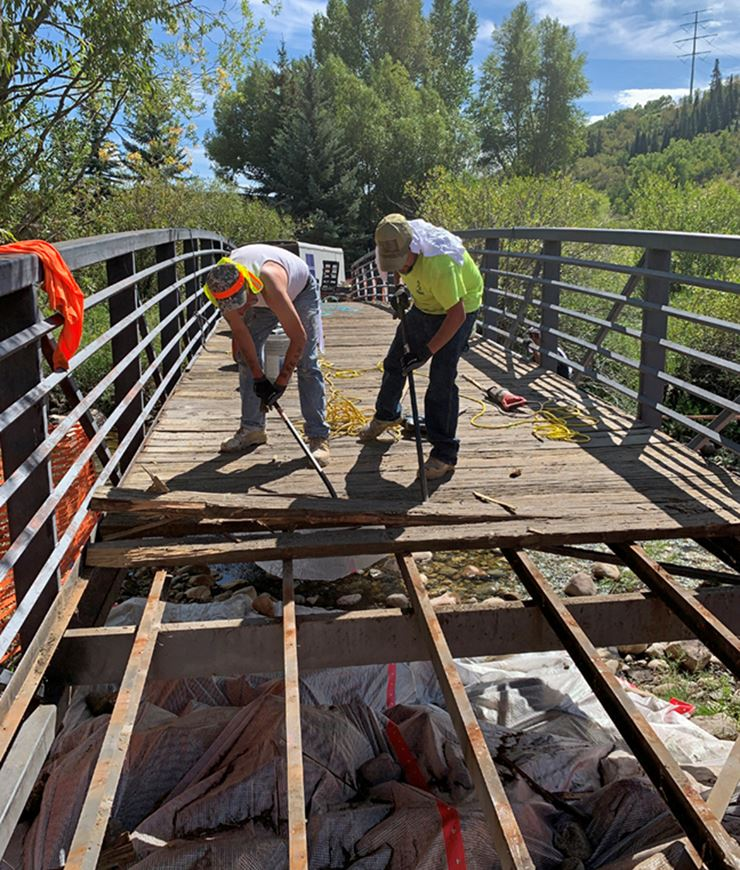 Fish Creek Bridge Closure NewsFlash