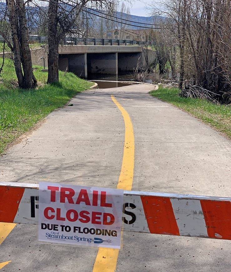 Core Trail Flooding NewsFlash