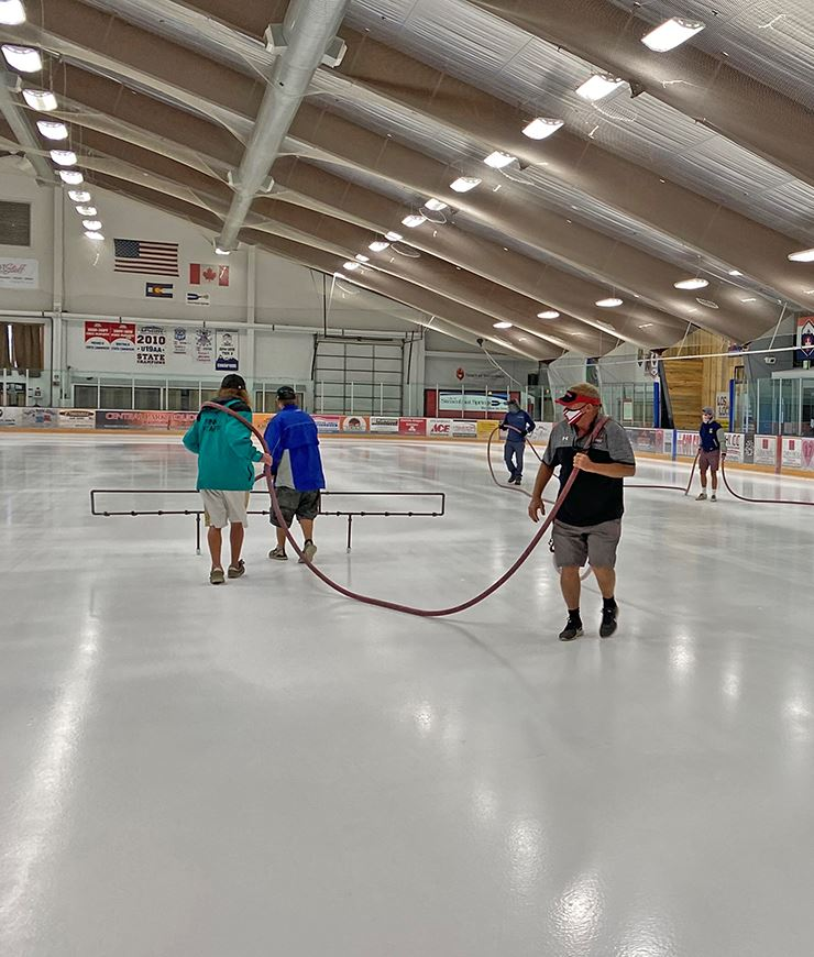 Ice Complex Reopening NewsFlash