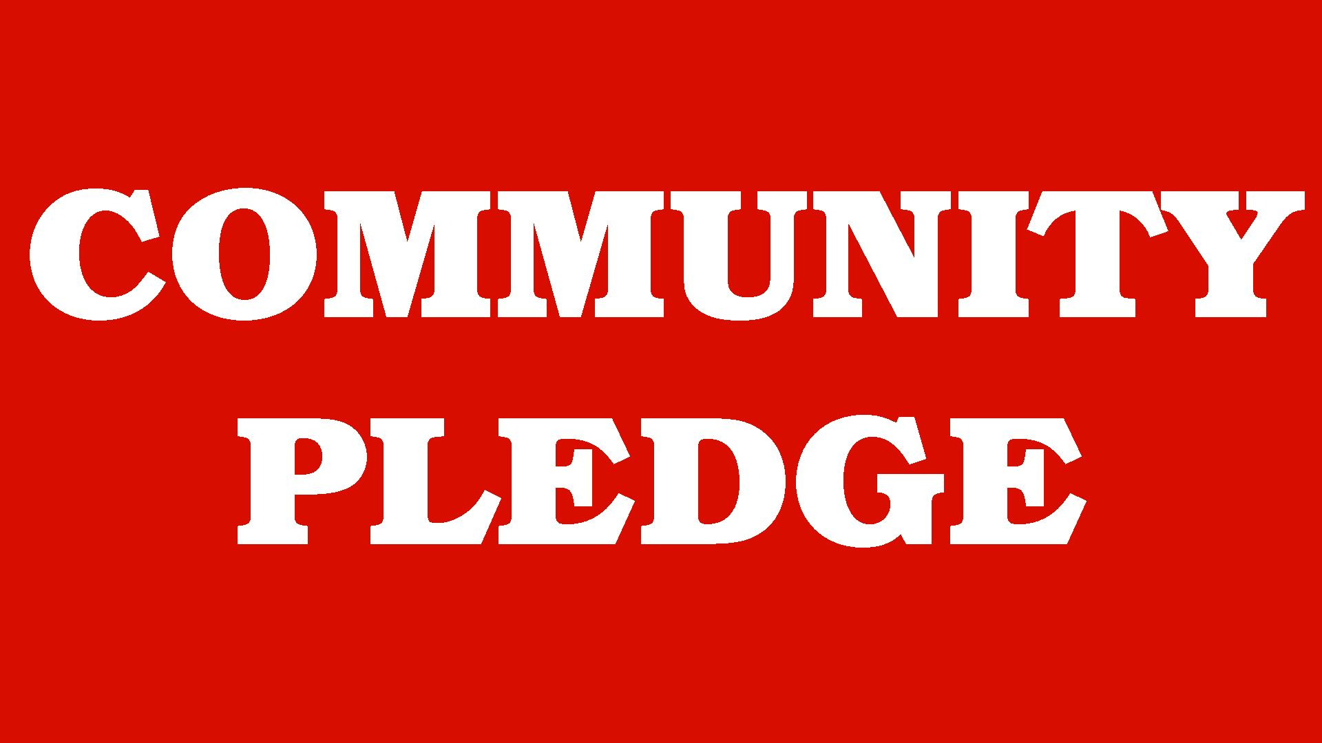 Community Pledge