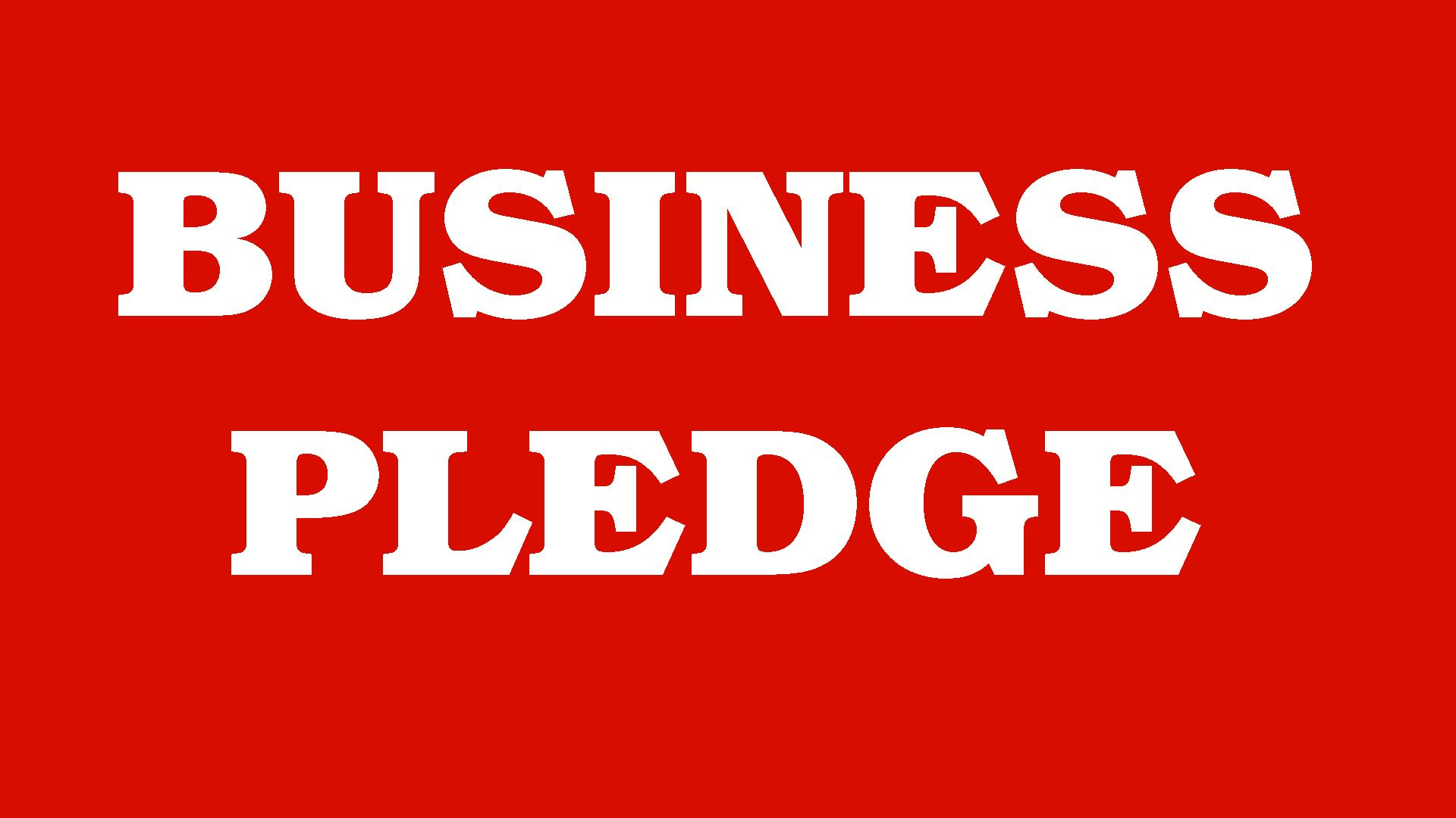 Business Pledge