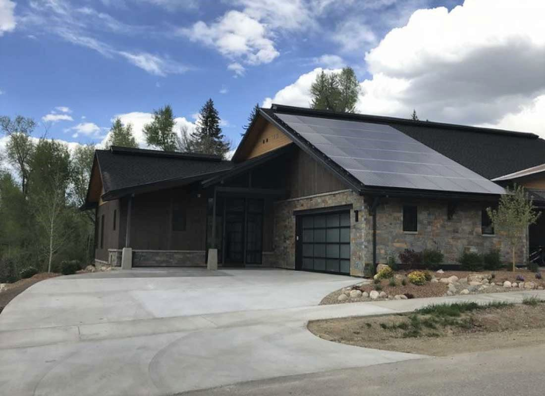Duplex-Roof-Mount courtesy Brightside Solar in Steamboat Springs