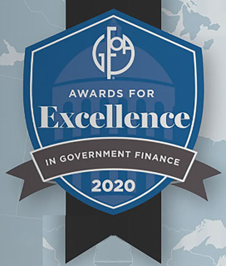 GFOA Award 2020 NewsFlash